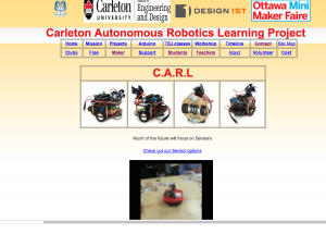 Carleton Autonomous Robotics Learning Centre